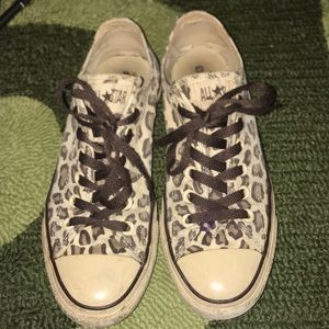 Chuck Taylor RARE Leopard Cheetah Print Sneaksers